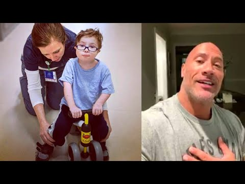 3-Year-Old Cancer Patient Gets Kind Message From 'The Rock'