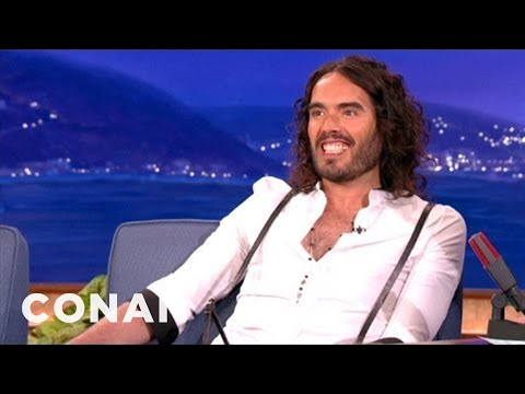 Russell Brand Is Hot For Jennifer Lawrence - CONAN on TBS