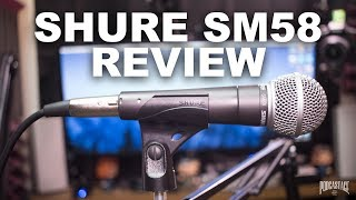 Shure SM58 Dynamic Mic Review / Test