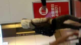 2012/09/17 羽田空港 ヨンセンさん来日。