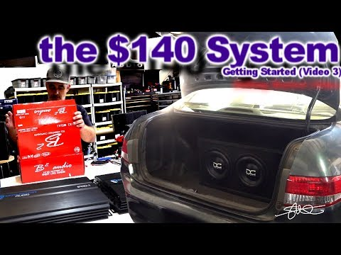 The $140 Sound System (Unboxing Amps & Door Speakers) 2004 Honda Accord Getting Started Video 3