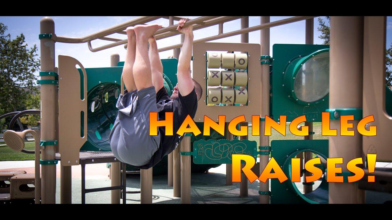 Hanging Leg Raises Toes To Bar