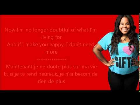 Glee - (You Make Me Feel Like) A Natural Woman / Paroles & Traduction