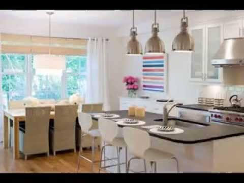 Open plan kitchen living room decor ideas YouTube