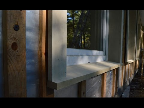 Trimming An Innie: Complex Window Trim Out - YouTube