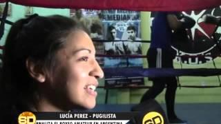 Boxeo: José Eduardo Mareco // Lucía Pérez - 22/10/2015