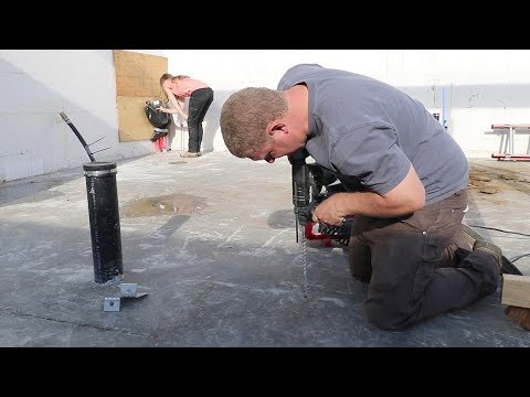RADIANT ROULETTE is SCARY! (Drilling Into Concrete Slab)