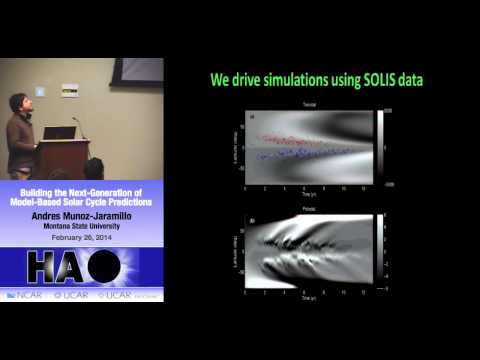 Andres Munoz Jaramillo | MSU | Building the Next-Generation of Model-Based Solar Cycle Predictions