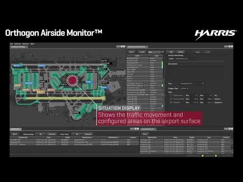 Orthogon Airside Monitor Airport Surface Movement Monitoring And Planning Solution