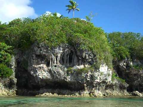 Niue sea track