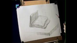 Уроки рисования (№ 4) карандашом. Рисуем буханку хлеба