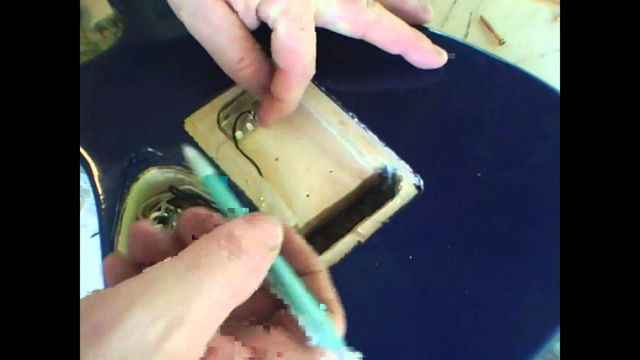 Strat/Tele Style Guitar Building - Vid 23 - Wiring