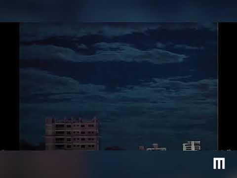 Meteoro ilumina céu do RS ao explodir sobre a Lagoa dos Patos