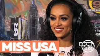 Miss USA Kara McCullough Clears Up Healthcare Comments + Shares Her Journey