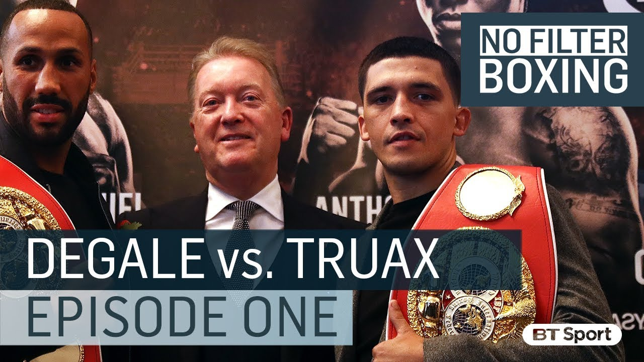 Image result for James DeGale vs Caleb Truax pic