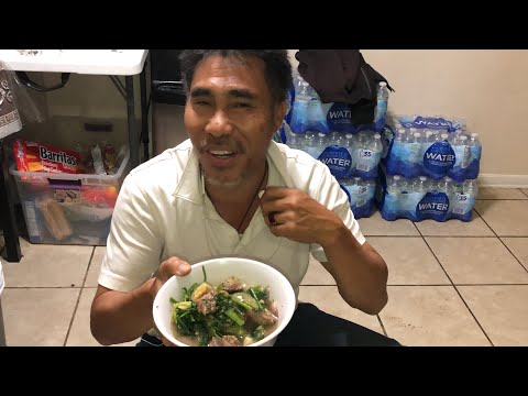 Don't Say Don't talk Making Aor Beef Tendon kaysone lao Food