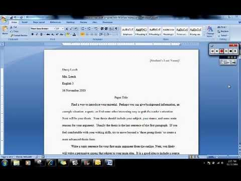 How can i do research paper