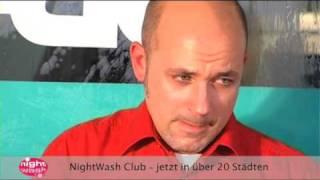 Frank Fischer bei NightWash - Heutejournal