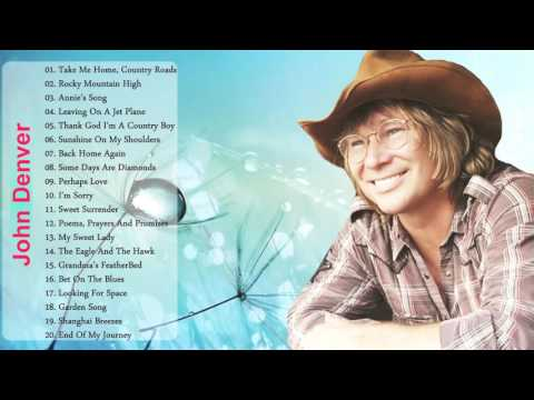 John Denver Greatest Hits Full Album   Best Songs Of John Denver   John Denver Collection 2016