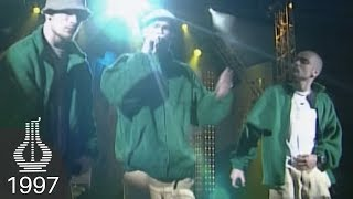 Tee Productions: N'Light'N, Tommy Tee, Diaz, Warlocks og Opaque live under Spellemannprisen 1997 thumbnail