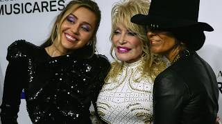 Grammys MusiCares 2019 Red Carpet Dolly Parton Tribute