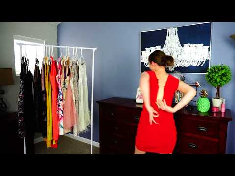 How to Zip Up Your Own Dress When Living Alone
