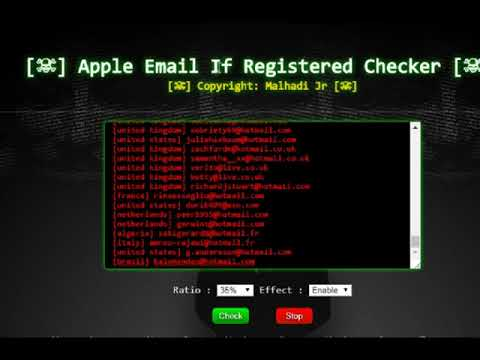 Paypal & Apple Valid Email Checker 2017/2018