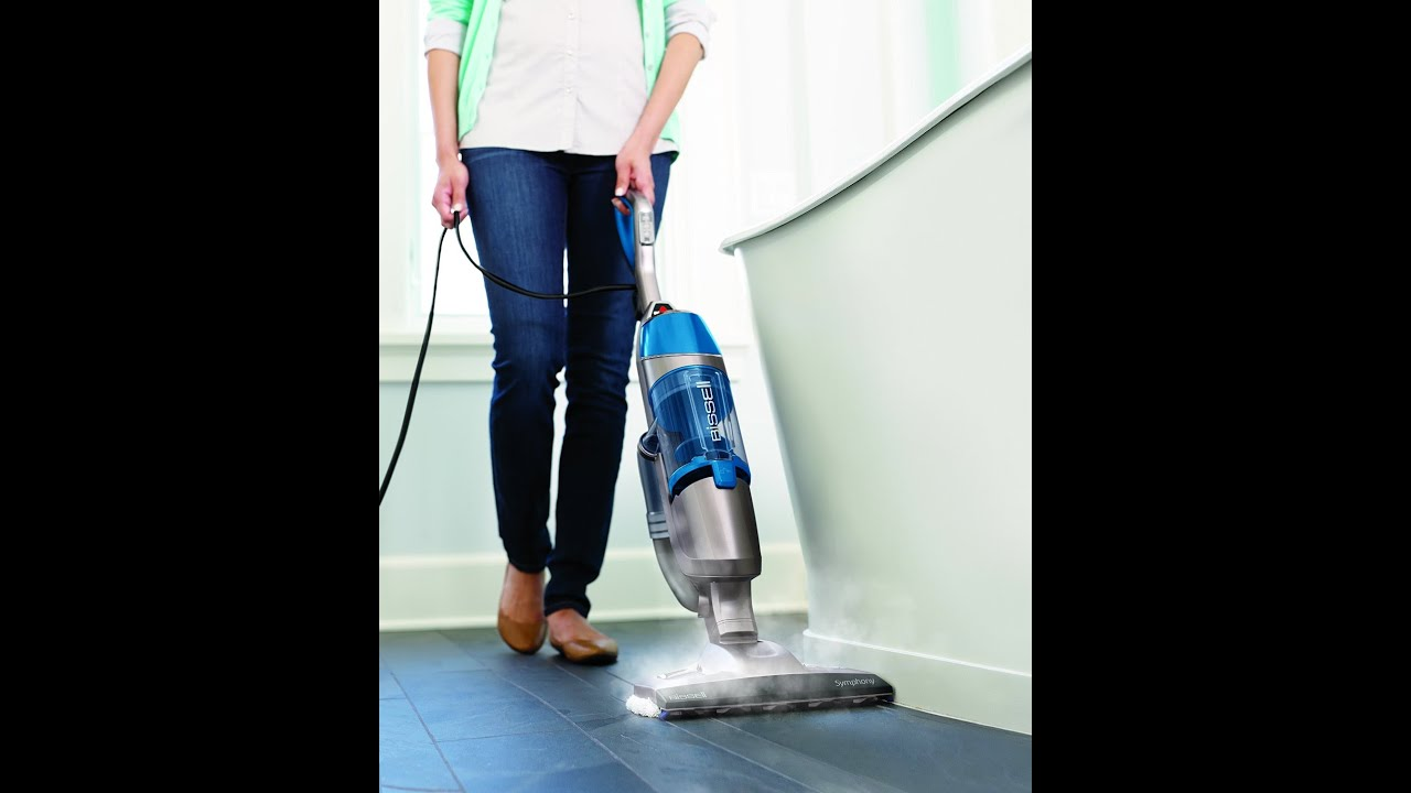 All in one vacuum and steam mop bissell symphony reviews youtube dailygadgetfo Gallery