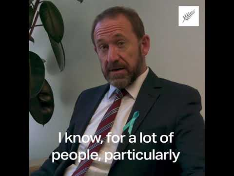 Andrew Little's cancer story