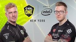 CS:GO - OpTic Gaming vs. FaZe Clan [Nuke] Map 1 - Group B - ESL One New York 2019