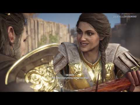 Assassin's Creed Odyssey - Best Ending ( Deimos Good Ending ) thumbnail
