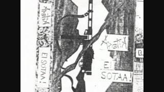 "Apatia - Ei Sotaa! ""Demo"" - 5 Tracks! ( Finnish Punk -95 )"