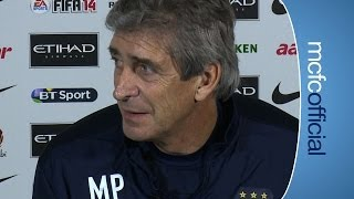 PELLEGRINI ON AGUERO: Southampton v City Press Conference Part 2