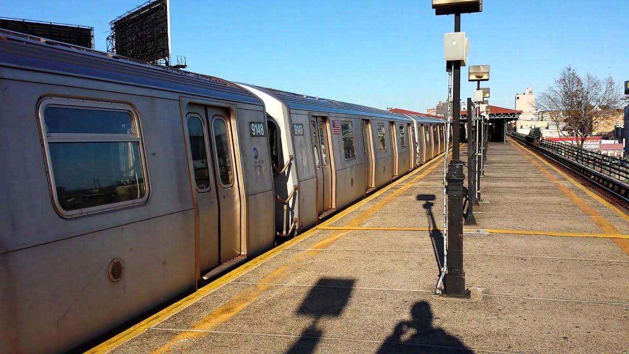 MTA New York City Subway: Coney Island Bound Alstom R160A ...
