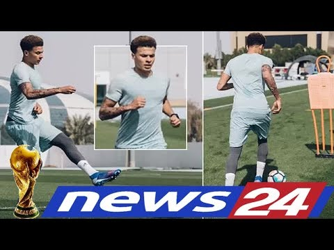 Sport TV - Dele Alli steps up recovery from injury as Spurs star begins ball work