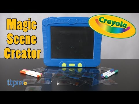 Magic Scene Creator from Crayola