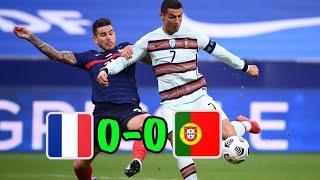ไฮไลท์ฟุตบอลล่าสุด ฝรั่งเศส 0-0 โปรตุเกส
