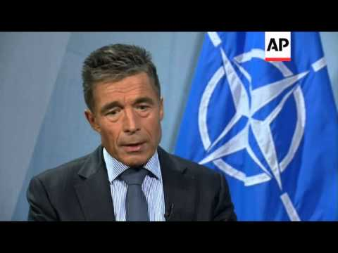 Fogh Rasmussen says 'high probability' of Russian military intervention in Ukraine