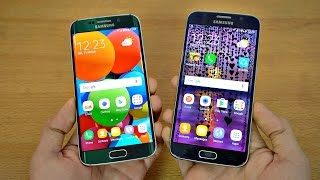 Samsung Galaxy S6 Edge Android 7.0 Nougat vs Galaxy S6 Android 6.0.1 Marshmallow - Full Comparison!