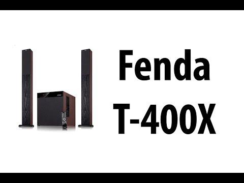 Fenda T-400X - Zestaw głośników do telewizora z Bluetooth/USB/SD i Karaoke  - HardPc TV #157