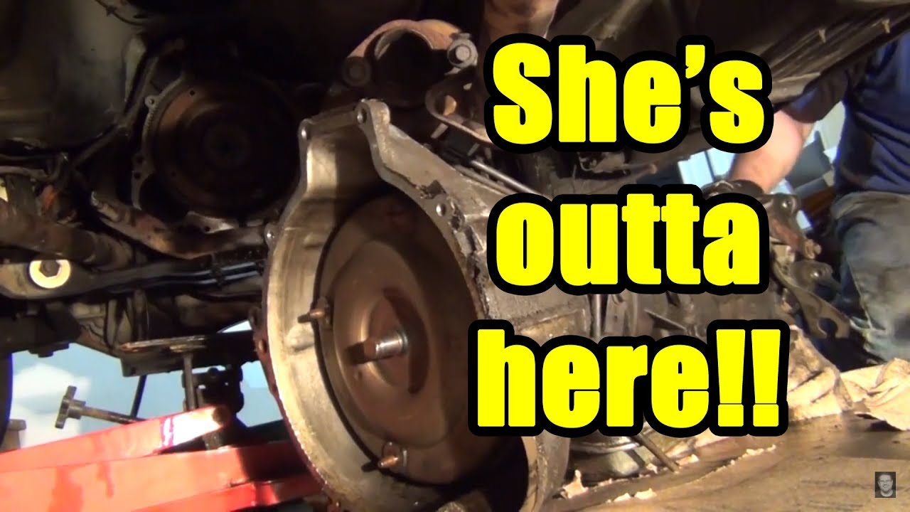 small resolution of first gen ford explorer 5 speed swap a4ld removal
