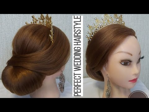 Romantic Wedding and Prom Hairstyles for Medium Long Hair 2019   All about hair with Dovilė