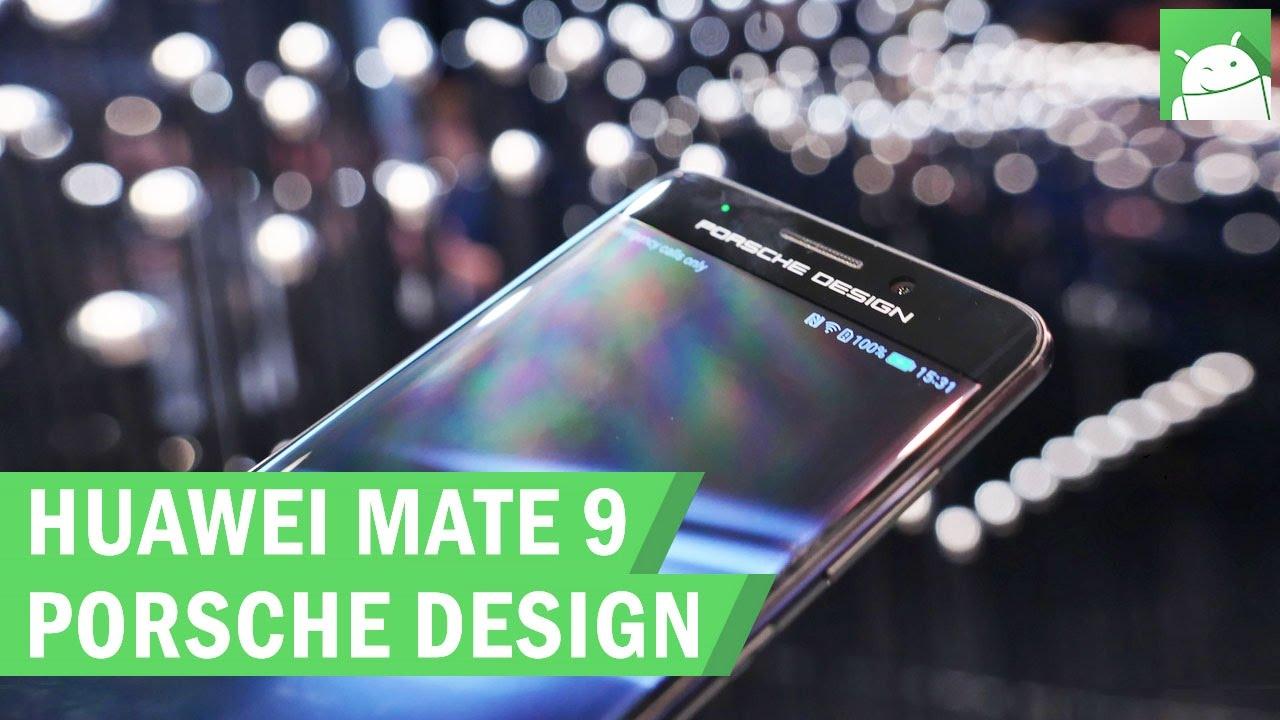 a001e09cf Huawei Mate 9 Porsche Design & Mate 9 Pro first look - YouTube