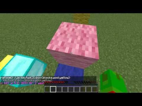 Coder dans Minecraft en Javascript