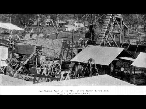 Diamond Mining in the New England Region NSW Australia