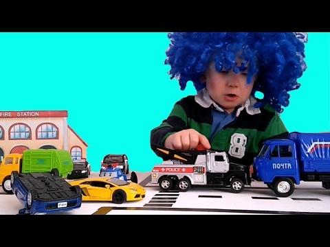 МАШИНКИ - сериал для мальчиков! Мультики про #машинки  Светофор Истории игрушек про машинки