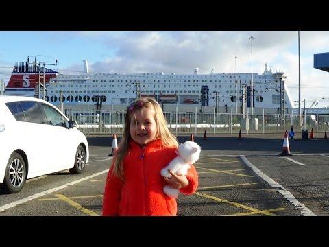 ♥ПУТЕШЕСТВИЕ В ГОЛЛАНДИЮ НА ПАРОМЕ. VLOG Travelling to Holland by ferry.