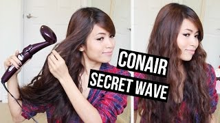 NEW! Conair Infiniti Pro Secret Wave Review + GIVEAWAY