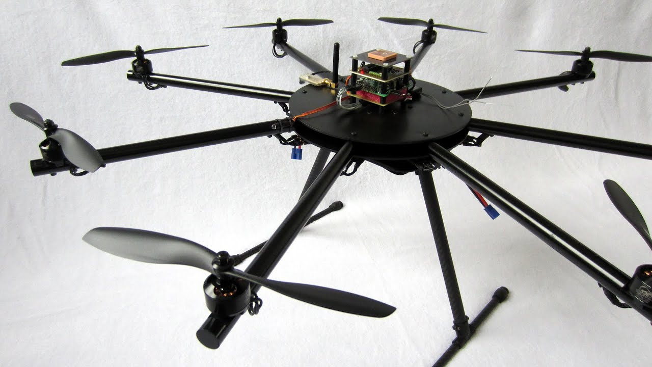 From a diy arduino quadcopter to versatile octocopter