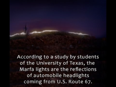 Everything You Need to Know about the Mysterious Marfa Lights